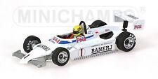 Minichamps 540834311 Ralt RT3 Toyota Ayrton Senna British Champion1983 Neu & Ovp