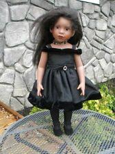 """Magic Attic Club Doll Keisha Brown Hair Brown Eyes 18"""""""
