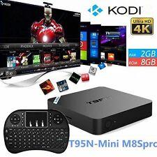 New T95N S905 Mini Android 6.0 Smart HD 4K Quad Core Kodi 16.0 WIFI 1G/8G TV Box