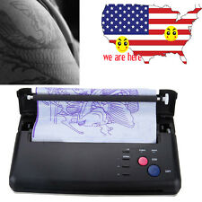 Pro Tattoo Transfer Copier Printer Thermal Stencil Paper Maker Machine Flash USA
