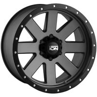 "4-Ion 134 20x10 6x5.5"" -19mm Gunmetal/Black Wheels Rims 20"" Inch"