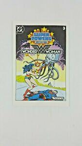 Vintage Super Powers Collection WONDER WOMAN #3 Mini Comic