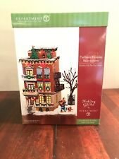 Department 56 Christmas in the City - Parkside Holiday Brownstone Gift Set