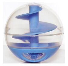 GATTO GATTINO miglior preferita Trattare giocattolo Dispenser di Cibo Palla Blu INTERACTIVE Playful