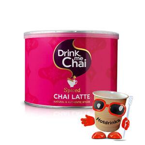 1kg Drink Me Chai Spiced Latte Tea Drink Powder, Tubs, Drums, Kegs - BB: 01/2023