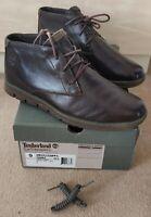 Timberland Bradstreet Chukka Earth Keepers Genuine UK 8.5 Dark Brown RRP £130