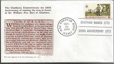 1973 Chatham Mass, Bicentennial of naming after Sir William Pitt Earl of Chatham