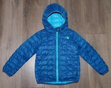 Toddler Boy's THE NORTH FACE Blue Thermoball Hoodie Quilted Jacket Coat size 4T