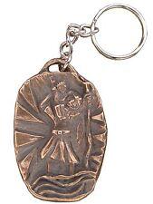 Llavero Christophorus 5 cm de bronce