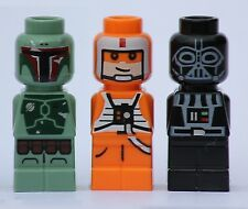 LEGO® Star Wars™ Set of 3 Microfigs - Micro Fig Microfig - Luke, Vader and Fett