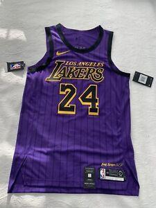 Kobe Bryant Lakers Authentic Nike City Jersey Size Men's Medium 44