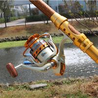 EF1000-7000 5.5:1 12BB Ball Bearing Saltwater / Freshwater Fishing Spinning Reel