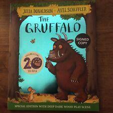 The Gruffalo - Julia Donaldson/A Scheffler. Signed UK  1/1