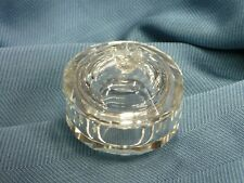 Cajita vidrio redonda. Round glass box