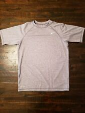 Nike Dri-fit Men's Small Gray T-Shirt Nike Athletic Gym Shirt