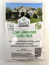 Soil2O Home Lawn Care Refill Pack, Water-Retentive Powder, Concentrated (3 Pack)