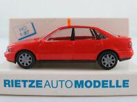 """Rietze 30651 Audi A4 Limousine (1994) """"TAXI / Schweiz"""" in rot 1:87/H0 NEU/OVP"""