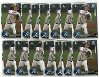 x20 BRYSE WILSON 2016 1st Bowman Chrome #111 Rookie Card lot/set Atlanta Braves!