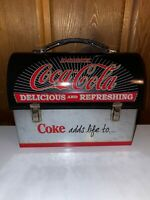 """Vintage Coca-Cola Mini Lunch Box Collectible Tin """"Coke Adds Life To..."""""""