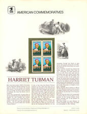#92 13c Harriet Tubman #1744 USPS Commemorative Stamp Panel