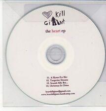 (DD275) Heart Kill Giant, The Heart EP - DJ CD