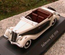SALMSON S4E 1938 CABRIOLET 1/43 BLANCHE WHITE NEW CAB IXO ALTAYA WEISS RHD