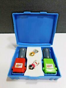 Spinjas Vintage Toys Blue Case Arena 1987 Tomy Works Parker Brothers