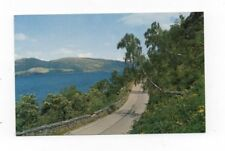 Scotland - Loch Ness and the Road to Fort Augustus - Vintage Postcard