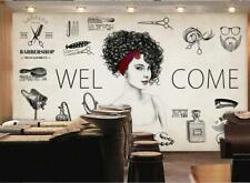 3D Perm Cool Girl KEP689 Wallpaper Mural Self-adhesive Removable Jenny