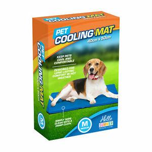 Magic Pet Dog Cat Cool Cooling Gel Mat Bed Pillow Cushion Pad Summer Heat Relief