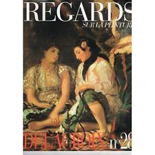 DELACROIX REGARDS sur la  PEINTURE Femmes d'Alger dans leur appartement Huile...