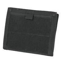 Condor Tactical MOLLE Admin ID Holder Panel Zipper Pocket Pouch Wallet Black