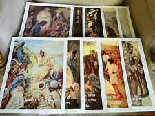 """Set of 10 Posters """"Life of Christ"""" for Your Sunday / Christian School Classroom"""