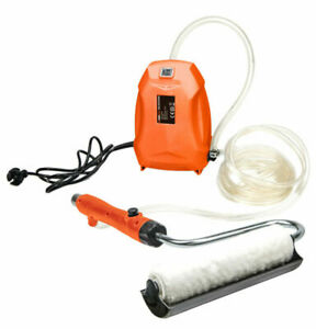 220V Electric Latex Paint Roller Brush Automatic Self-suction Wall Roller 60W