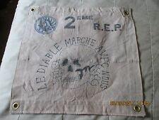 FRENCH FOREIGN LEGION 2 ND EME REP PARATROOPER THE DEVILS MARCH  WALL FLAG
