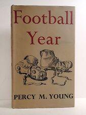 Football Year by Percy M Young, illustrator R Haggar 1956 Phoenix Books hardback