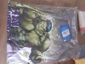 Boys Incredible Hulk Pyjamas Set Marvel Avengers Long Sleeve Trousers PJs