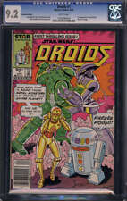 Droids #1 CGC 9.2 WP 1st App Jost Ellon & Governor Kugg Canadian Edition