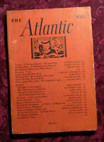 ATLANTIC May 1936 Rudyard Kipling Mary Doyle Leland Stowe William Hard