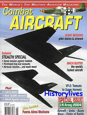 Combat Aircraft V6 N1 D-Day Missions VF-2 Tomcats Super Hornets Stealth Iraq USN