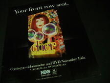 Cher .Your Front Row Seat 1999 Promo Poster Ad mint condition