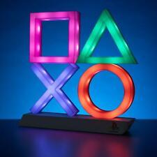 Sony Playstation XL Lampe Leuchte Symbole Icon Light Premium Licht