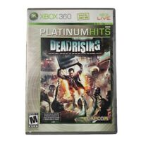 Microsoft Xbox 360 Dead Rising Platinum Hits Video Game 2006
