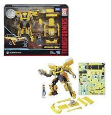 Transformers Studio Series #15 Bumblebee with Charlie Deluxe Class In Stock