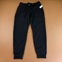 Old Navy Womens Black Size Small Mid-Rise Tapered-Leg Jogger Pants