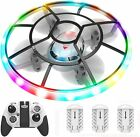 HASAKEE Q7 Mini Drone RC Helicopter Quadcopter With Altitude Hold,Neno Light,3