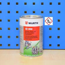 1kg Würth Pasta de cobre Cu 800 frenos LUBRICANTES liberación
