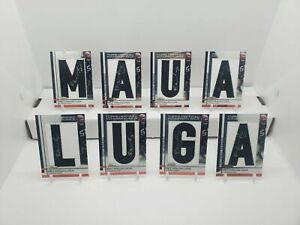 2009 REY MAUALUGA TOPPS FINEST LAST NAME SIGNED CARDS