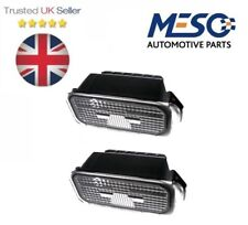 A PAIR OF NUMBER PLATE LIGHT LAMP & BULB FOR FORD TRANSIT TOURNEO CONNECT 2013