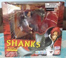 One Piece Figuarts Zero Red Haired Shanks Battle Ver. PVC Figure Bandai Tamashii